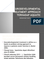 Neurodevelopmental Treatment Approach Terhadap Aquatic