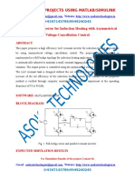 LLC Resonant Inverter for Induction Heating with Asymmetrical Voltage-Cancellation Control