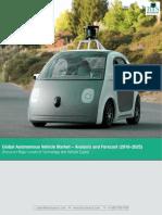 Global Autonomous Vehicles Market Size