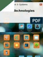 unit 3 lesson 1 core technologies