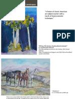 Karen Bowden Horses and Landscapes Mar 2017