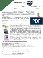 English Test Informatica 1st September15