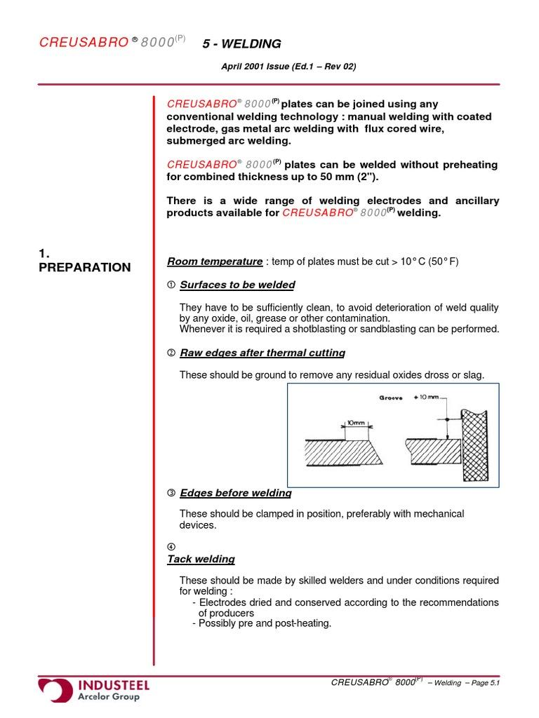 Manual arc welding: technology, GOST 79