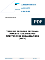 AAC-020 AMO Training Program Approval Process (07 Feb 2014)