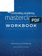 Exploring Lucid Dreaming Masterclass With Andrew Holecek Workbook