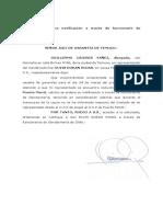Notificacion Gendarmeria