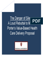 Michael Porter's Value-Based Health Care Delivery Proposal