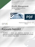 Inverion en Bolsa NYSE - Asesoraburstillynx-140806094834-Phpapp01