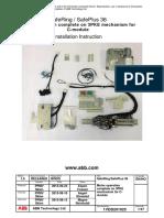 Motor Operation Mechanism for C-module
