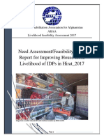 ARAA_Herat_Need Assessment Report for Livelihood.docx