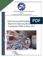 ARAA_Herat_Need Assessment Report for Livelihood.docx