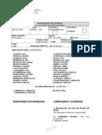 Acta de Claustro 14 Abril de 2015