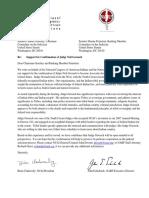 NCAI NARF Gorsuch Letter