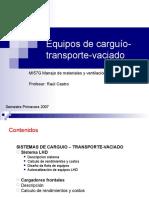 Clase 10 Equipos de Carguio-transporte-Vaciado