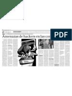 Amenazas de Hackers en las compañías
