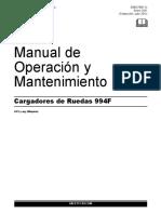 Cat 994F Manual de Operacion_ES