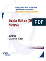 Adaptive Multi-rate (AMR)