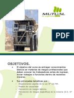 Inducción Para Contratistas Empresas Mineras