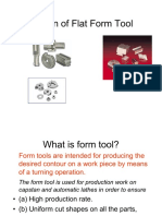 43434190 Design of Flat Form Tool