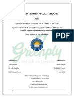 Summer Intership Project Report Hr