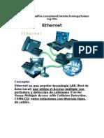 Que Es Ethernet y Token Ring