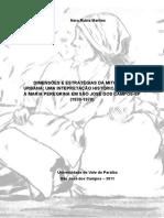 Dimensões e Estratégias Da Mitologia Urbana Uma Interpretação Histórica Devoção à Maria Peregrina Em São José Dos Campos SP 1930 1970