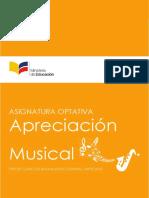 Asignatura Optativa Apreciacion Musical ECA 3BGU