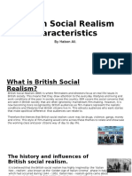 British Social Realism Characteristics Research
