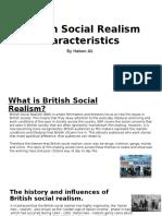 British Social Realism Characteristics Research