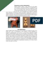 Artesania en La Epoca Prehispanica