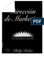 Direccion de Marketing by Kotler Español