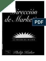 Direccion de Marketing by Kotler Español