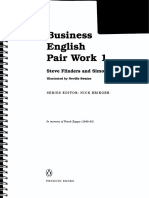 Business English Pair Work 1