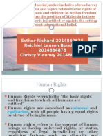 Human Rights Slides