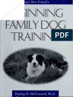 Beginning Family Dog Training - Patricia B. McConnell