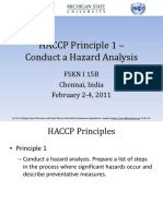 Intermediate Level_2_ HACCP Principle 1- Hazard Analysis