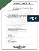 Examen Celadores Sacyl 2011