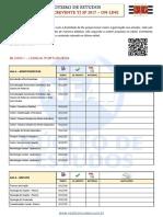 NEAF - Roteiro de Estudo Curso Online TJ SP