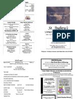 St Andrews Bulletin 0326