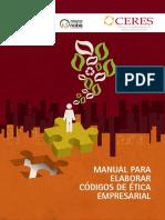 Manual Para Elaborar Codigos de Etica Empresarial