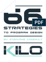 66 Strategies to Program Design - Stephane Cazeault