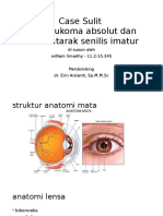 Ppt Case Sulit Os Glaukoma Absolut Dan Ods Katarak Imatur Senilis