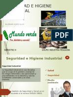 Seguridad Industrial en La Industria Pesquera