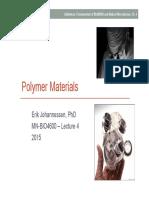 04 BIO4600 Polymer Materials