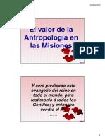 El Valor de la Antropología en las Misiones