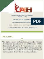 Programas de Crédito para Empresas (Pymes)