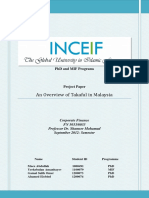 Overview of Takaful in Malaysia