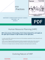 HRMP_Session 4 _Human Resource Planning
