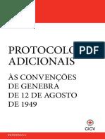 Os Protocolos Adicionais às Convenções de Genebra de 12 de agosto de 1949