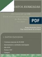 DataWareHouse Contratos Menores Ayuntamiento de Barcelona
